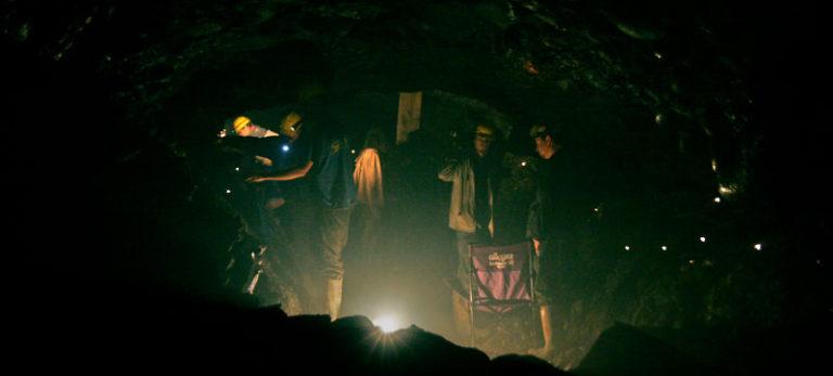 Underground filmmaking…